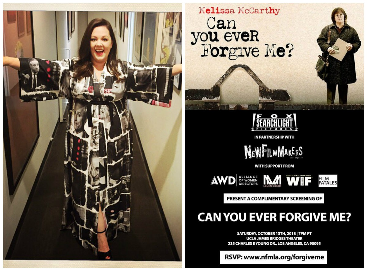 Melissa McCarthy (Can You Ever Forgive Me?)